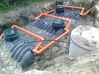 Автономная канализация  для загородного дома на 9-12 чел., фото 2