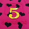 Летнее платье-туника для девочки. 128, 152, 164 см, фото 3