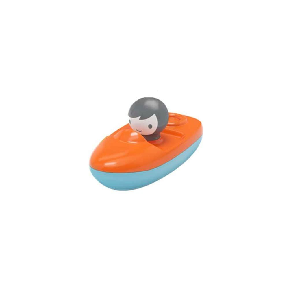 Іграшка для гри у воді Kid O Міні Швидкохідний Човен помаранчева
