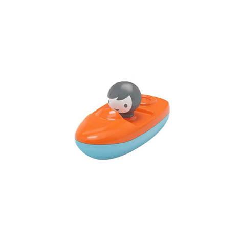 Іграшка для гри у воді Kid O Міні Швидкохідний Човен помаранчева, фото 2