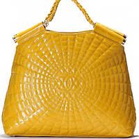 Женская сумка CHANEL  желтого цвета