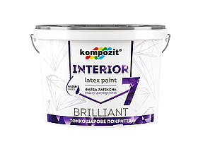 Краска матовая для стен Kompozit INTERIOR 7 (14 кг)