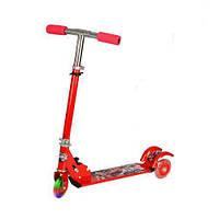 Самокат детский Profi BB 3-001 3 колеса ПВХ 95 мм Красный (int_BB 3-001)