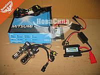 Лампочка ксеноновая (набор) H4 (Mitsumi) Bi-Xenon 5000K (без гарантии)   HID 5000К DC