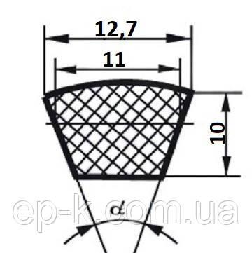 Ремень клиновой  SPA-900