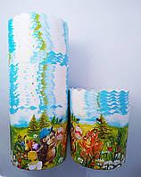Бумажные формы для выпечки пасхи 110*85  Детские