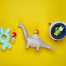 """Игрушка для игры в воде """"Тюлень и ребенок"""" (свет) Kid O , фото 3"""