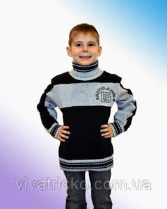 Свитер для мальчика полосатый (9577)