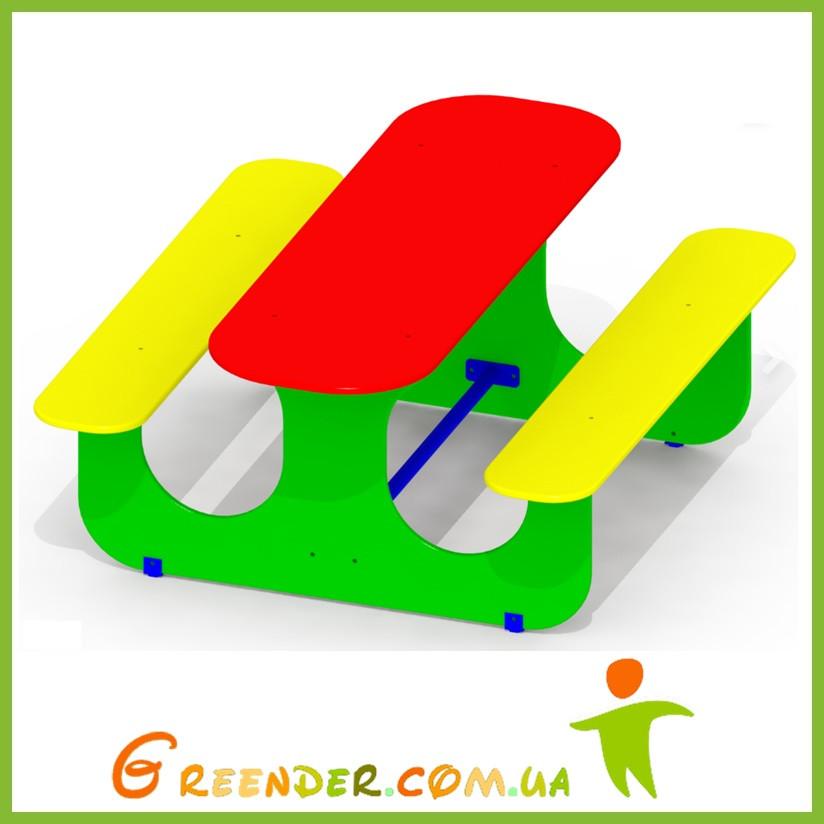 Песочный столик детский цветной P45