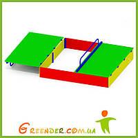 Уличная песочница для детского сада Р54
