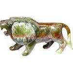Лев из оникса 18 см