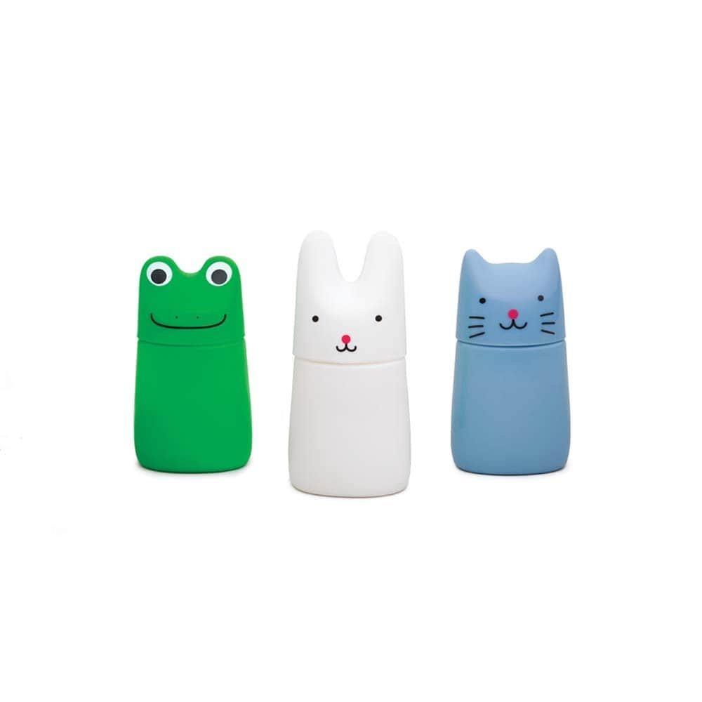 """Мыльные пузыри """"Фигурные Животные"""" (асс .: лягушонок, кролик, кот) Kid O"""