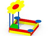 Песочницы для детей игровые на улицу Ромашка P33, фото 2