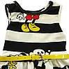 Летнее платье Minnie Mouse для девочки. 100 см, фото 3