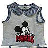 Летнее платье Mickey Mouse для девочки. 92, 98, 104 см, фото 3