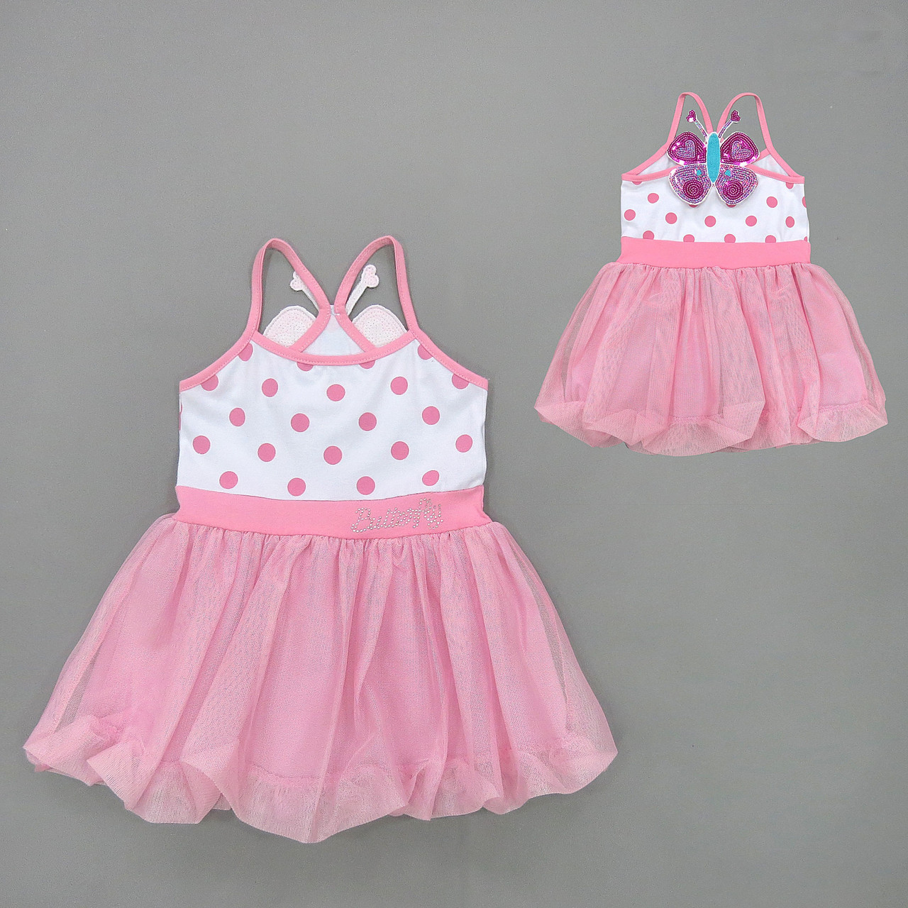 """Летнее платье """"Бабочка"""" для девочки. 2-3 года"""