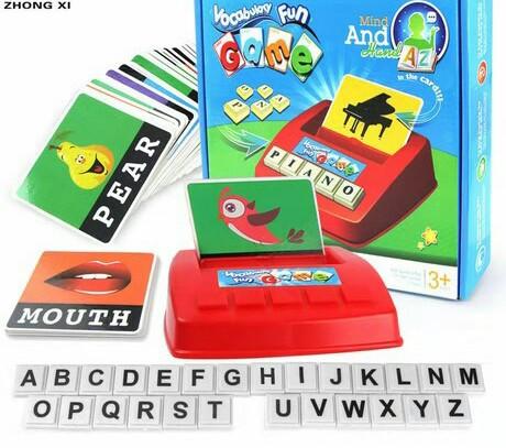 Детская игрушка. Развивающая игра - учим Английский