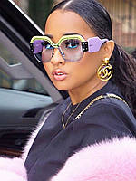 Солнцезащитные очки Миу Миу синие с желтым, фото 1