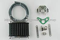 Масляный радиатор (комплект) для моторов JH 50/70/110 (Alpha, Delta, Aktiv), фото 1