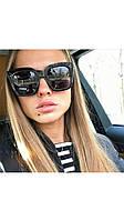 Солнцезащитные очки квадратные Celine черные, фото 1
