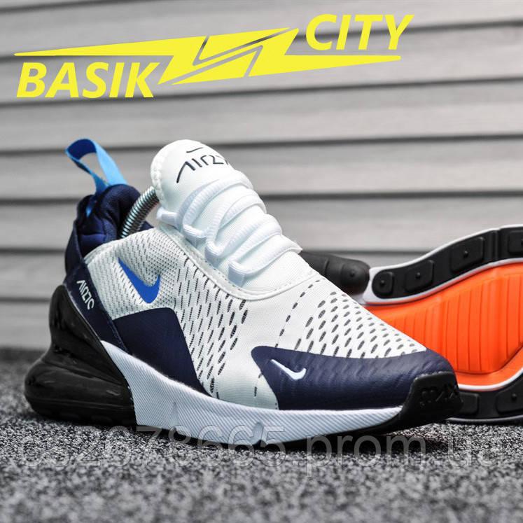 Мужские кроссовки Nike Air Max 270 Dirty Cactus Blue 44 размер - 28см