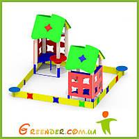 Песочный дворик «Мечта» Р29 для детских игровых площадок