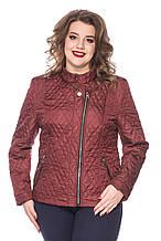 Женская демисезонная куртка Kariant Лолита Бордо