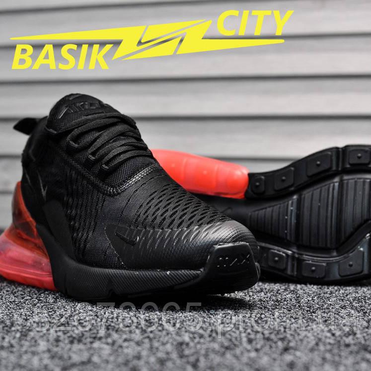 Женские кроссовки Nike Air Max 270 Black Red 36 размер - 22,5см
