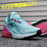 Женские кроссовки Nike Air Max 270 Aqua Pink 39 размер - 25см