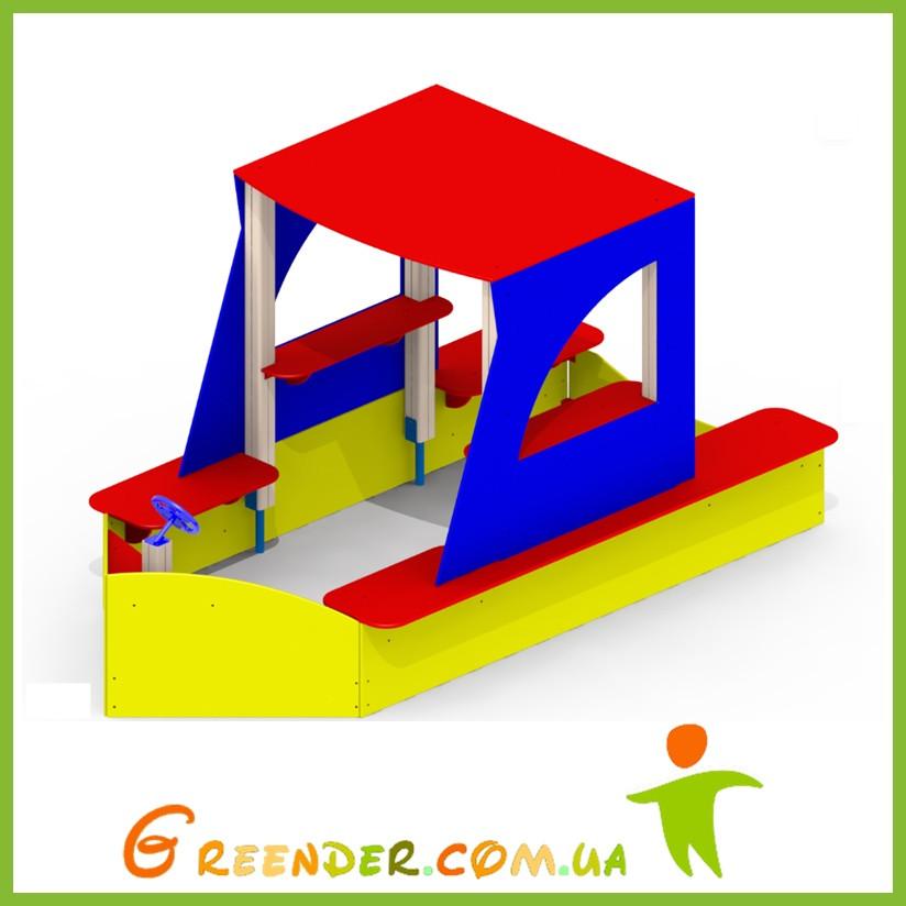Песочный дворик «Яхта» Р26 детский игровой комплекс