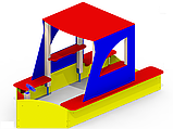 Песочный дворик «Яхта» Р26 детский игровой комплекс, фото 2