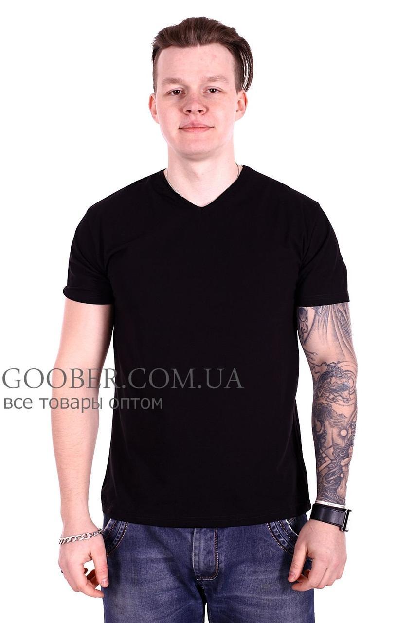 Чоловіча однотонна футболка 44/4 Mastif XXL