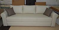 Кожаный диван Еврокнижка для ежедневного сна от производителя, фото 1
