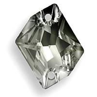 Камені Сваровські пришивні 3265 Black Diamond