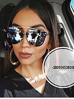 Солнцезащитные очки Dior Reflected голубые, фото 1