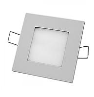 Светодиодная LED панель 11 Вт 4000К серебро Navigator