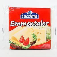 Сыр тостовый Lactima Emmentaler 130 г
