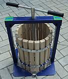 Пресс ручной для сока Вилен (20л с деревянной корзиной), фото 2