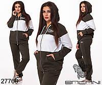 Спортивный женский костюм размеры 48-50,52-54,56-58