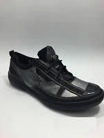 Стильные кожаные туфли обувь