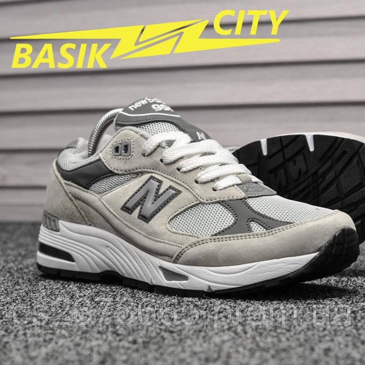 Мужские кроссовки New Balance 991 Light Gray