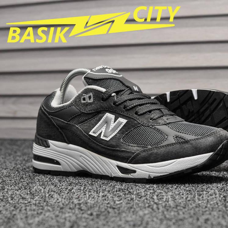 Мужские кроссовки New Balance 991 Dark Gray