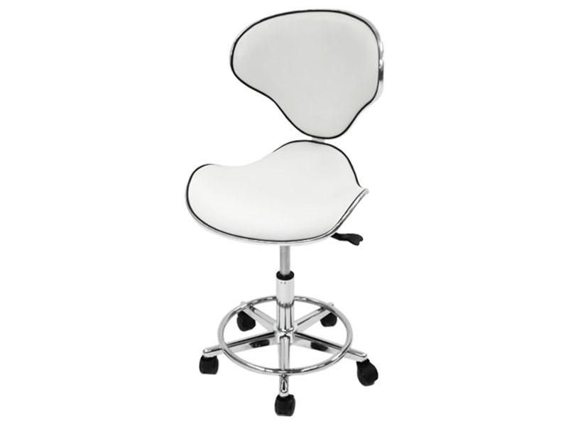 Стілець косметолога зі спинкою стільці майстра манікюру крісло для манікюру модель 851 А