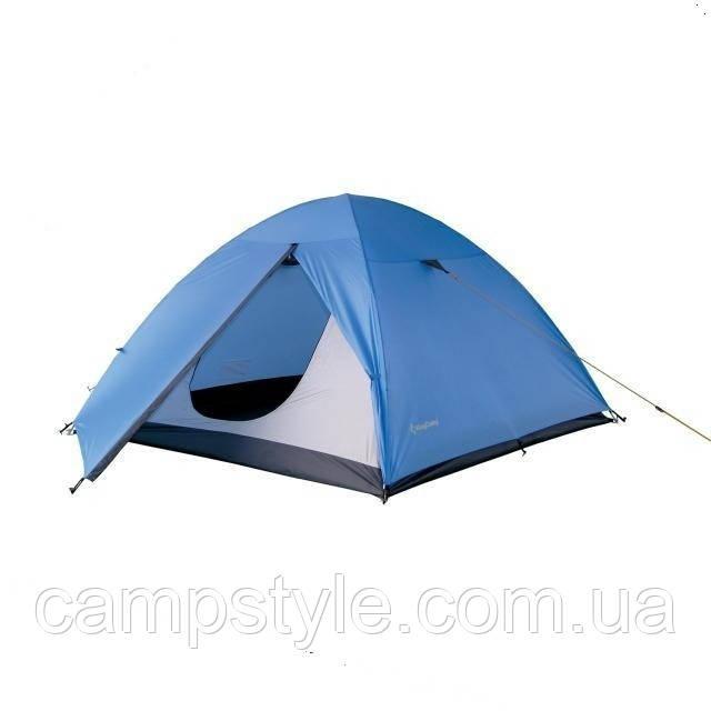 Трехместная туристическая палатка KingCamp Hiker 3 KT3021