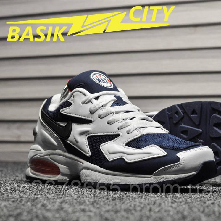 Мужские кроссовки Nike Air Max 2 Light White Blue