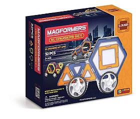 Магнитный конструктор Магформерс Крейслер Magformers XL Cruisers Set 32 (706001)
