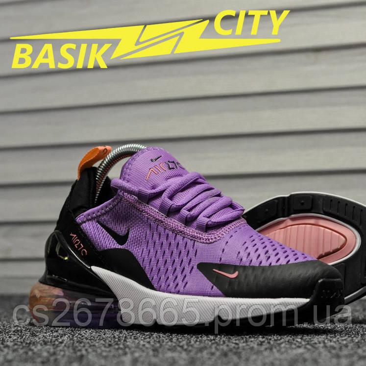 Женские кроссовки Nike Air Max 270 Lavander 36 размер - 22,5см