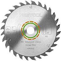 Пильный диск универсальный 160 x 20 x 2,2 мм W28 Festool 496302