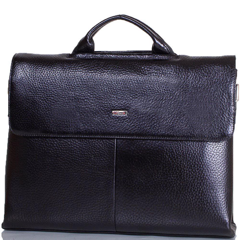 Портфель кожаный DESISAN модель SHI1312-011-2FL