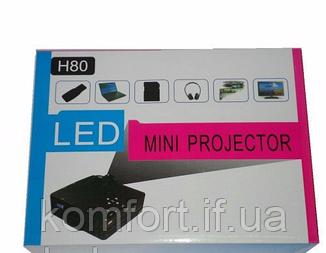 Домашний проектор Wanlixing W662(H80) FHD 80L 1920x1080, фото 2
